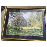 """Framed Impressionist Poster (42"""" x 32"""")"""
