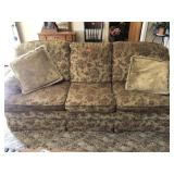 """3 seater couch w/pillows 84"""" w"""