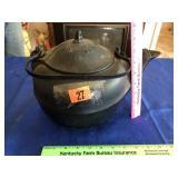 Cast iron tea kettle #7 (Covington Ky)