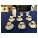 6 place Tea set