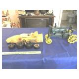 Decanter & JD reproduction tractor