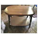 Maple side table 30 x 20 x 22 t