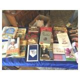 Assortment of cookbooks