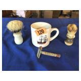 Old Shaving items