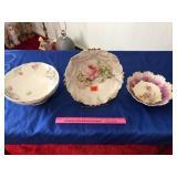 Floral bowls (3)