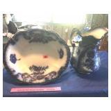 Flo-Blue pitcher & bowl