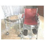 Wheel chair & walker