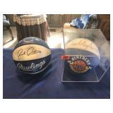 Tubby Smith & Rick Pitino signed basketballs