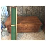 Cedar chest 48 x 20 ( tray supports are missing)
