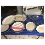 Meat platters, relish trays, & servers