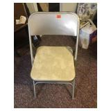 4 padded card table chairs