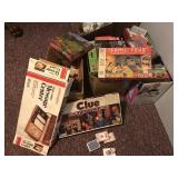 Assortment of games, cards,  & jigsaw puzzles