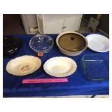 Assortment of cookware & serving bowls