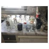 Assortment of cups &  glasses