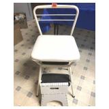 Kitchen stool & foldup stool