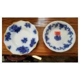 2 Flo-Blue plates