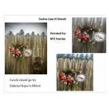 Festive Case IH Wreath