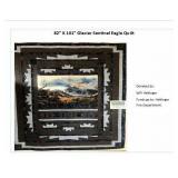 "82"" x 101"" Glacier Sentinel Eagle Quilt"