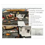 Rifle and Case IH cleaning kit and accessories