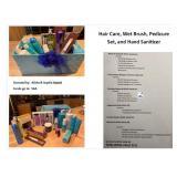 Hair Care & Pedicure Basket