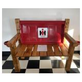 International Harvester Bench w/ Cup Holders