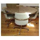 Retro / Mid Century Dining Table & Chairs