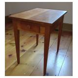 Mid Century Modern Side Table w/ Drawer