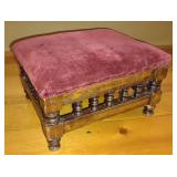 Victorian Upholstered Stool
