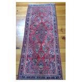 Floral Oriental Runner Rug