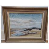 W. Robert Cook Beachfront Painting (original)