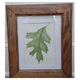 Laurie L. Cumpston Original Leaf Painting