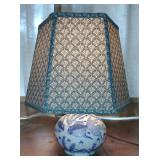 Small Porcelain Accent Lamp