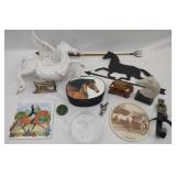 Collection of Equestrian Horse Items