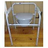 Carex Deluxe Folding Commode - A