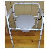 Carex Deluxe Folding Commode - B