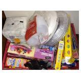 Paper Plates, Napkins, Storage Bags (No Tote)