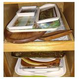 Assortment of Serving Trays