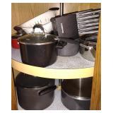 Cooking Pots & Knife Set