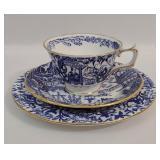Royal Crown Derby Bone China Tea Cup & Saucers