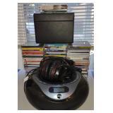 Portable CD Player w/ CDs