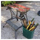 Black & Decker Workmate Workbench w/ Hand Tools