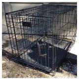 Medium Folding Dog Crate / Kennel