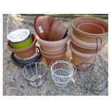 Hanging Basket Planters & Plastic Plant Pots
