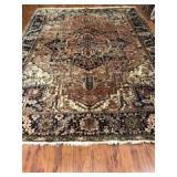Persian Mahal Rug 11.5 x 8.9