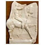 "28"" Ancient Roman Sculpture Framed 18-lbs (reprod"