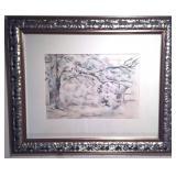 "Extrememly Rare Paul Cezanne 1/100 c1926, 33x28"""