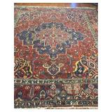 Antique Persian Bakhtiari Rug #603