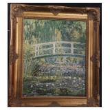 """32"""" Vintage Monet LE Painting"""