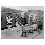 20) Dream-Work II - 59 X 43 Surreal Artwork: LE, S