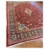 Antique Persian Mahal Rug #595